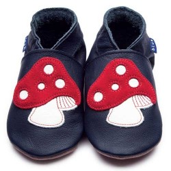 CHAUSSONS - ECO BOX - TOADSTOOL NAVY - 12/18 MOIS