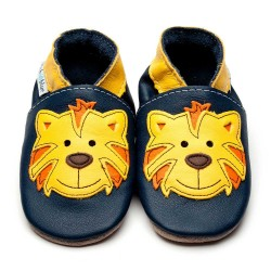 CHAUSSONS - ECO BOX - TOMMY TIGER NAVY - 0/6 MOIS