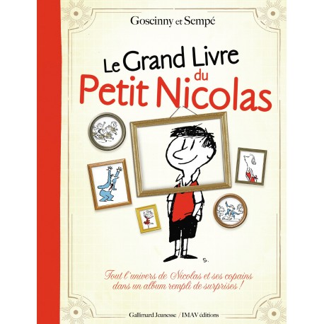 LE GRAND LIVRE DU PETIT NICOLAS