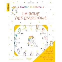 """POCHETTE """"LA ROUE DES EMOTIONS DE GASTON"""""""