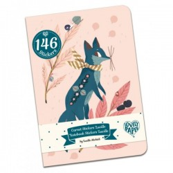 DUO PETITS CARNETS+ STICKERS - LUCILLE
