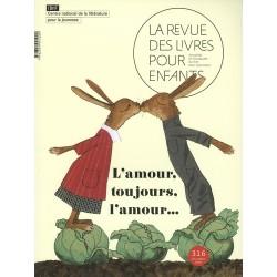 LA REVUE DES LIVRES POUR ENFANTS - L'AMOUR, TOUJOURS L'AMOUR...