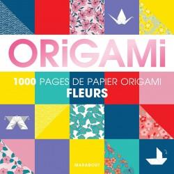BLOC ORIGAMI - FLEURS