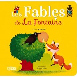 LIVRE POP-UP - LES FABLES DE LA FONTAINE