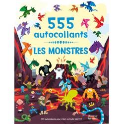 LES MONSTRES - 555 AUTOCOLLANTS