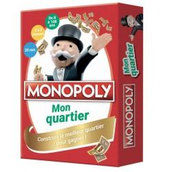 MONOPOLY - MON QUARTIER - CONSTRUIS LE MEILLEUR QUARTIER POUR GAGNER !