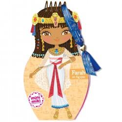 MINIMIKI - CARNET CREATIF - FARAH EN EGYPTE