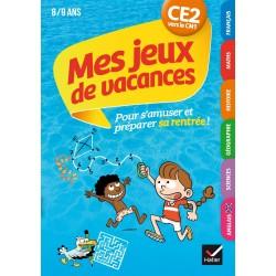 MES JEUX DE VACANCES 2021 DU CE2 VERS LE CM1 8/9 ANS