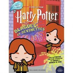 HARRY POTTER - BLAGUES ET DEVINETTES - PEINTURE MAGIQUE