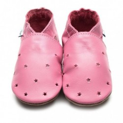 CHAUSSONS - ECO BOX - MILKY WAY ROSE - 6/12 MOIS