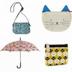 Sacs, valises, porte-monnaies, parapluies