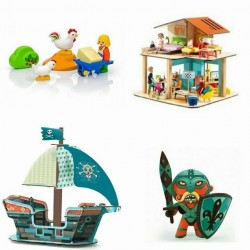 Figurines, jeux d'imagination