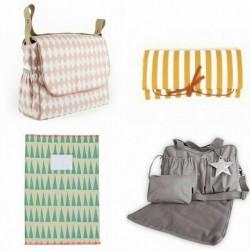 Protège carnet de santé, sacs et tapis à langer